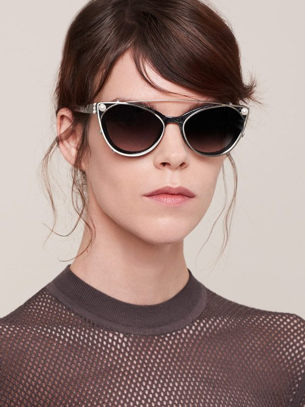 Meghan Collison is the Face of Jason Wu FW17 Eyewear Collection (9 pics)
