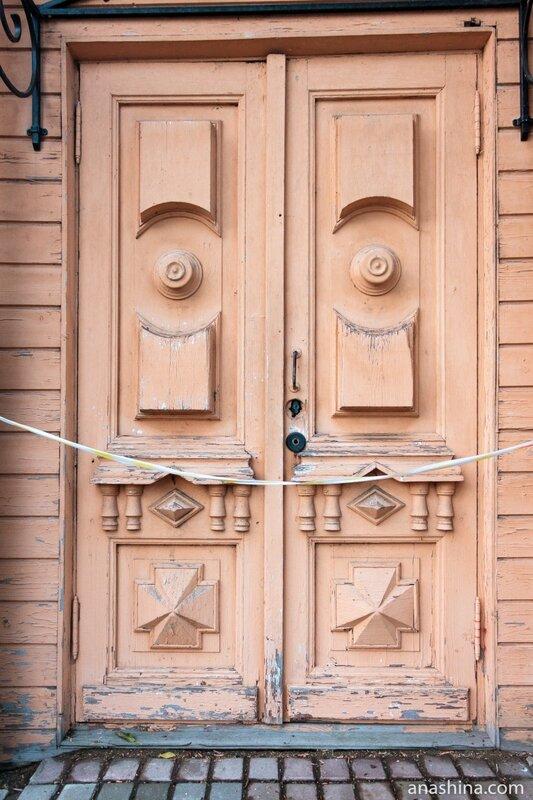 Старинные двери, Вологда