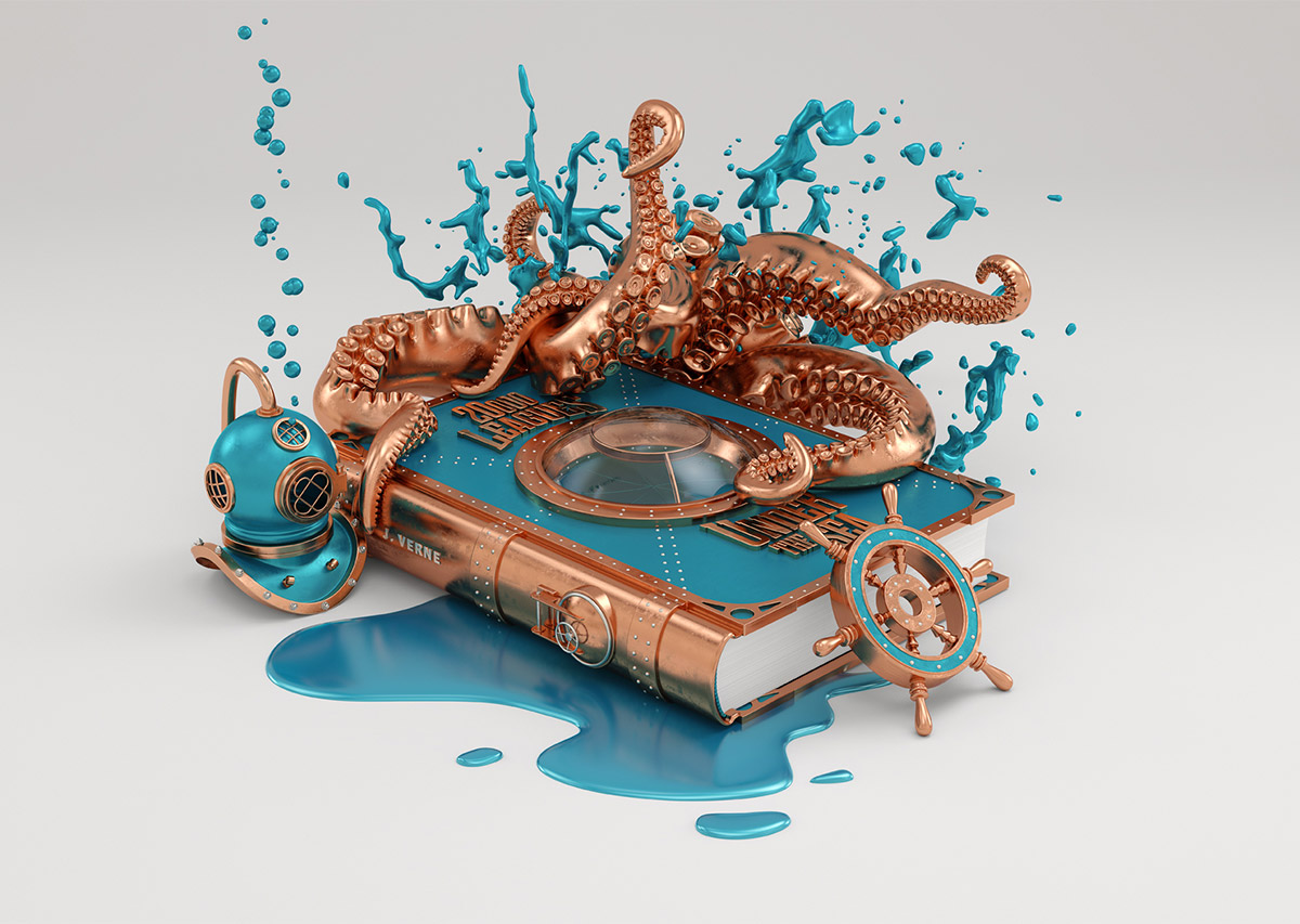 3D Illustrations by Conspiracystudio