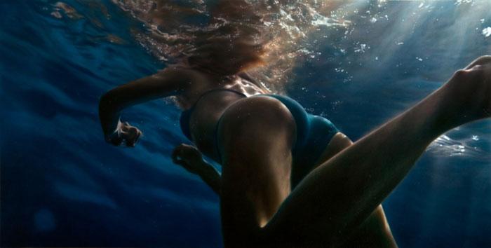 Hyper Realist Paintings - Damian Loeb