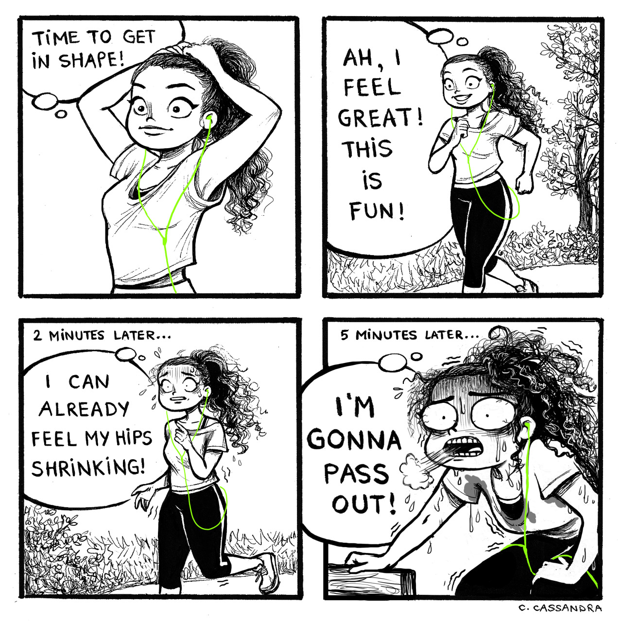 Hilarious Cartoon Illustrations of Problems that Every Woman has to Deal With!