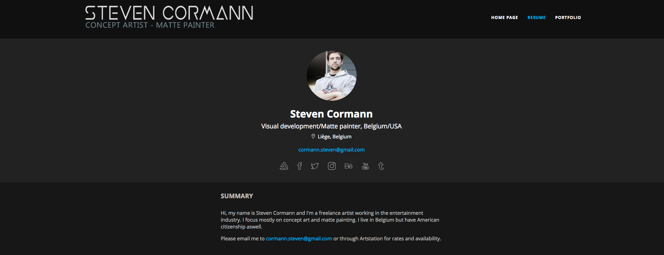 Featured Pro Portfolio: Steven Cormann