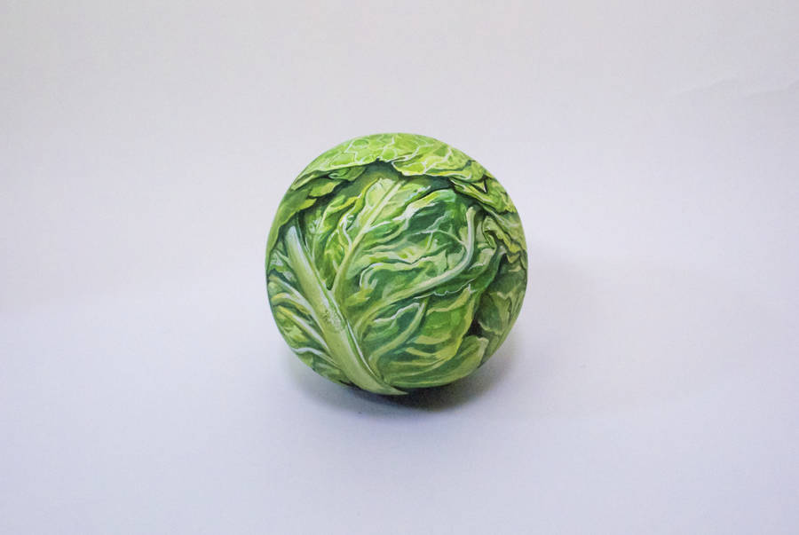 Hand-Painted Food Disguised to Look like Another Food