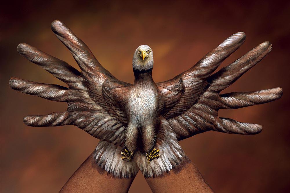 Amazing Hand Paintings - Guido Daniele