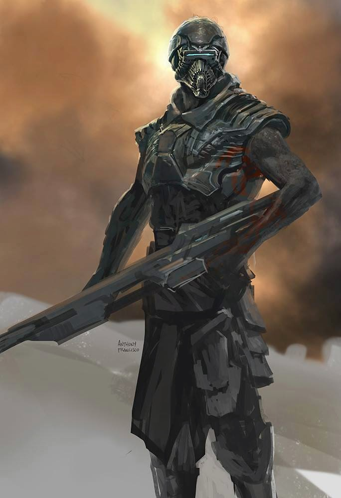 Guardians of the Galaxy Concept Art by Anthony Francisco