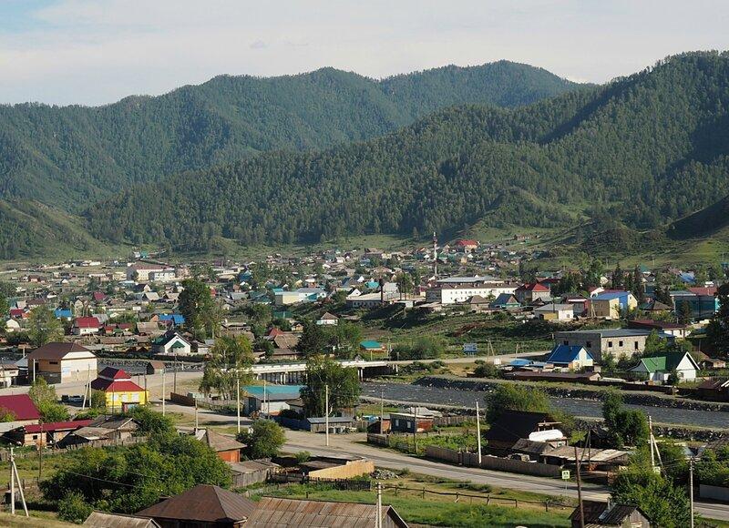 Алтай, село Онгудай (Altai, Ongudai village)