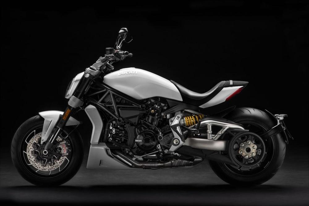 Новый мотоцикл Ducati XDiavel S Iceberg White 2018