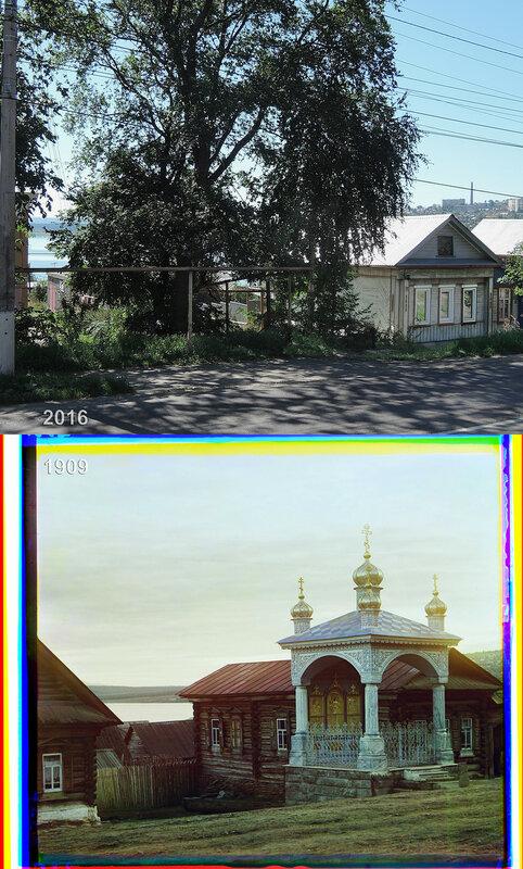 Часовня во имя св. Николая Чудотворца в селении Ветлуга.