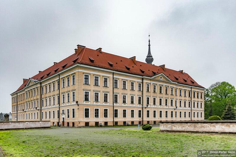 Жешув. Замок Любомирских