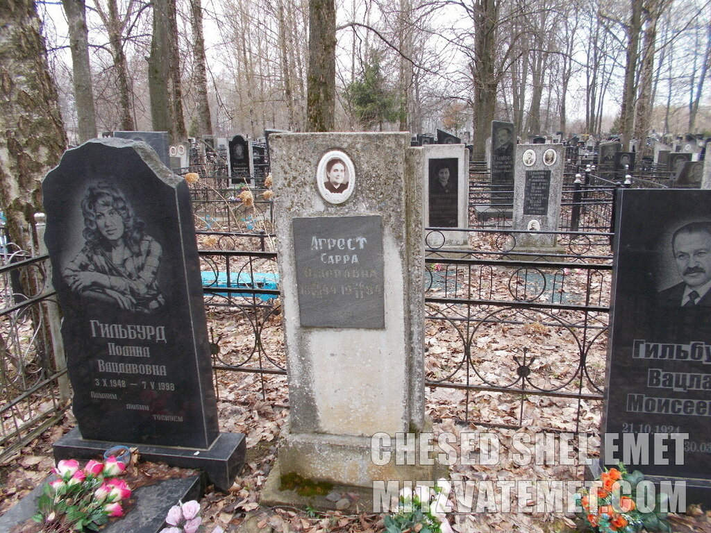 Кладбище в Могилеве