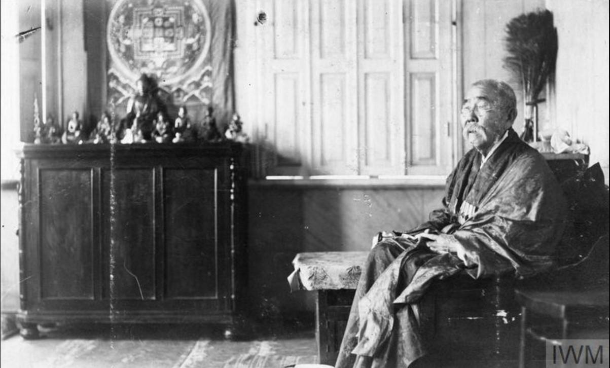 Калмыцкий буддистский первосвященник, лето 1919