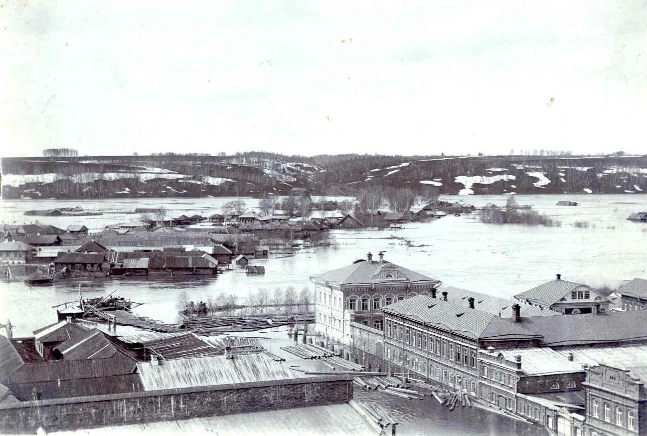 Наводнение. 1902