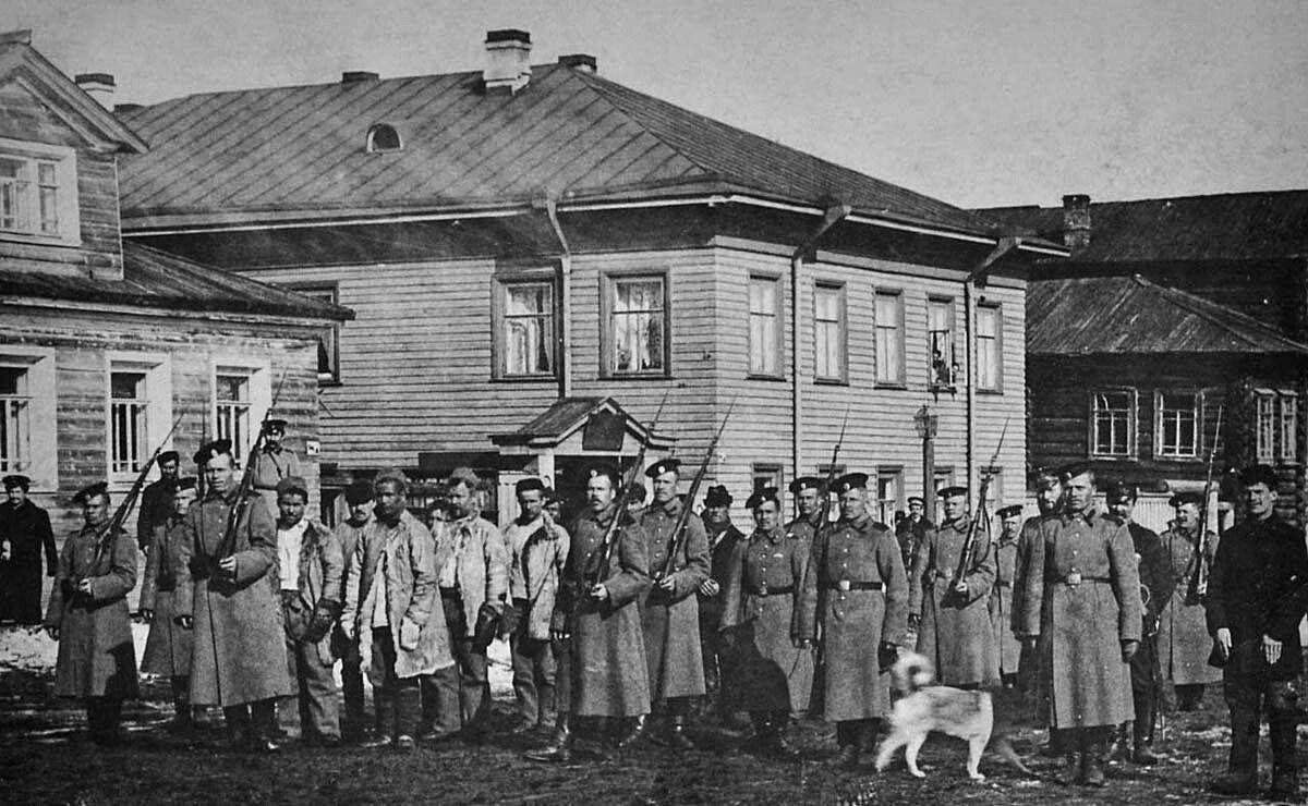 Этап ссыльных. 1915