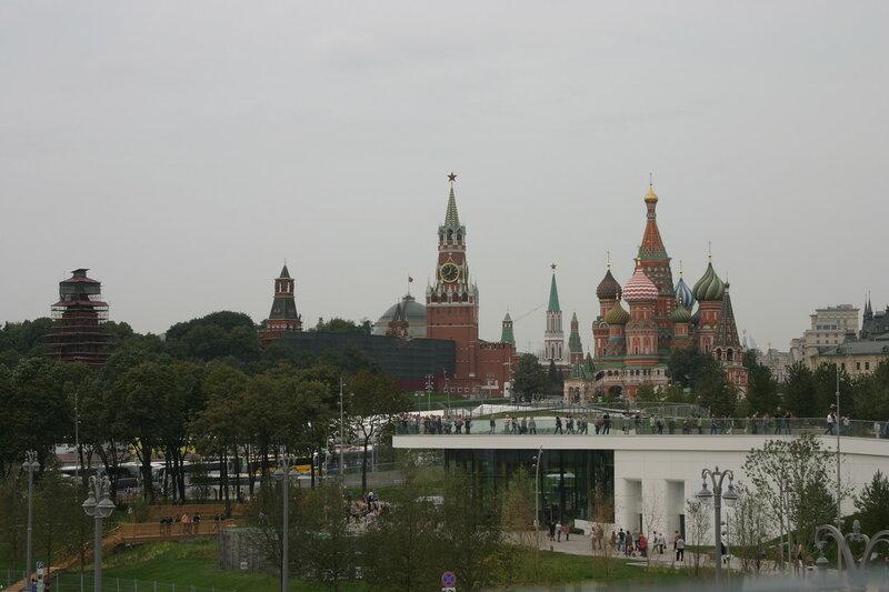 Панорамы парка Зарядье