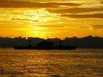 Закат над Авачинской бухтой..jpg