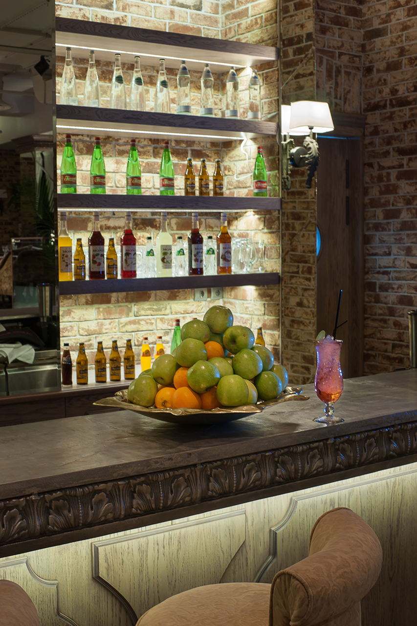 фотосъемка ресторана в Москве. дизайн проект Гуси-Лебеди