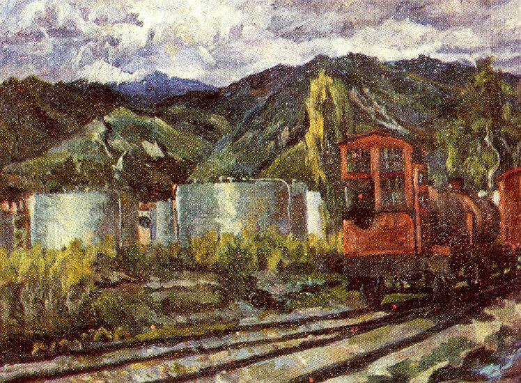 Нефтепровод в Туапсе, 1931 год