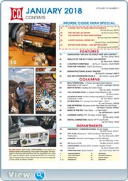 CQ Amateur Radio №1 (January 2018)