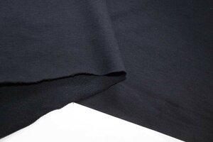 Ит609 Остаток 1,22м 450руб-м Хлопковый футер,цвет темно-синий,трикотаж средней плотности,не рыхлый,для свитшотов,кофт,платьев,брюк,детской одежды,шир.1,85м,хлопок 100%