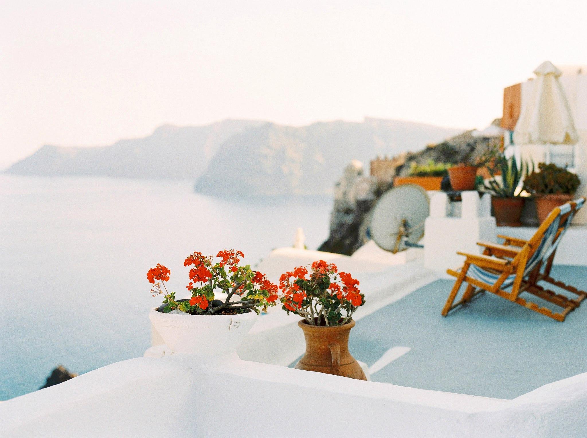 Фотограф Анна Дошина и ее путешествие в Санторини, Греция (9 фото)
