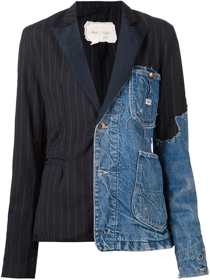 Джинсовка-пиджак от Farfetch.