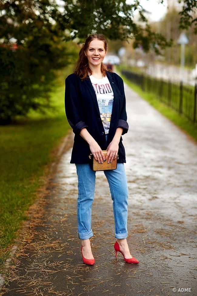 Пиджак— это один изсамых универсальных элементов гардероба. Пословам Эльмиры, его можно надеть во