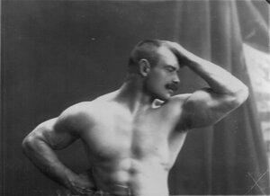 Портрет борца, участника чемпионата Соловьева.
