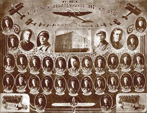 Вольск. 1932-г. V-й выпуск авиатехников