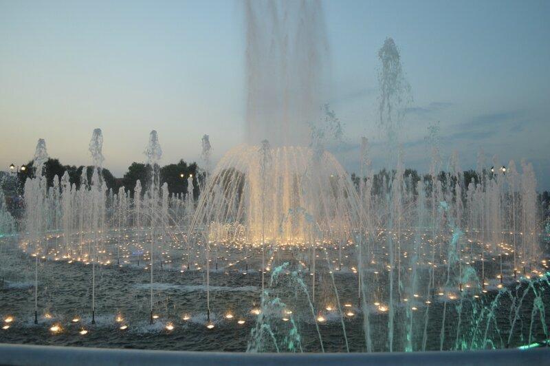 фонтаны в Царицыно
