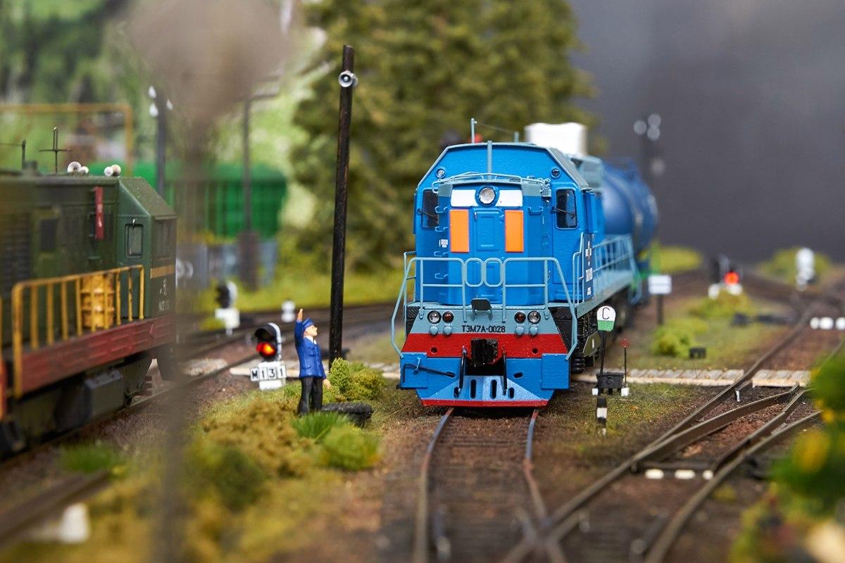 Железнодорожный транспорт в миниатюре