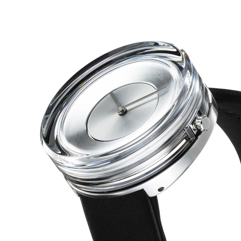 Sleek and Minimalist Issey Miyake Glass Watch