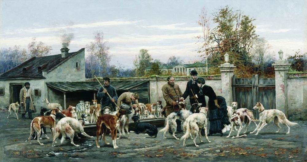 Алексей Данилович Кившенко,1851-1895-русский художник.