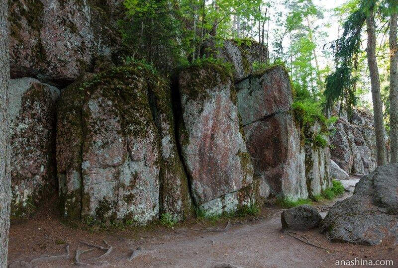 Ущелье Святого Николая, парк Монрепо, Выборг