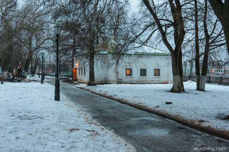 Домик Петра I в Вологде