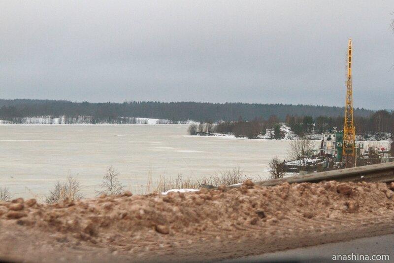 Новинское водохранилище, Вологодская область