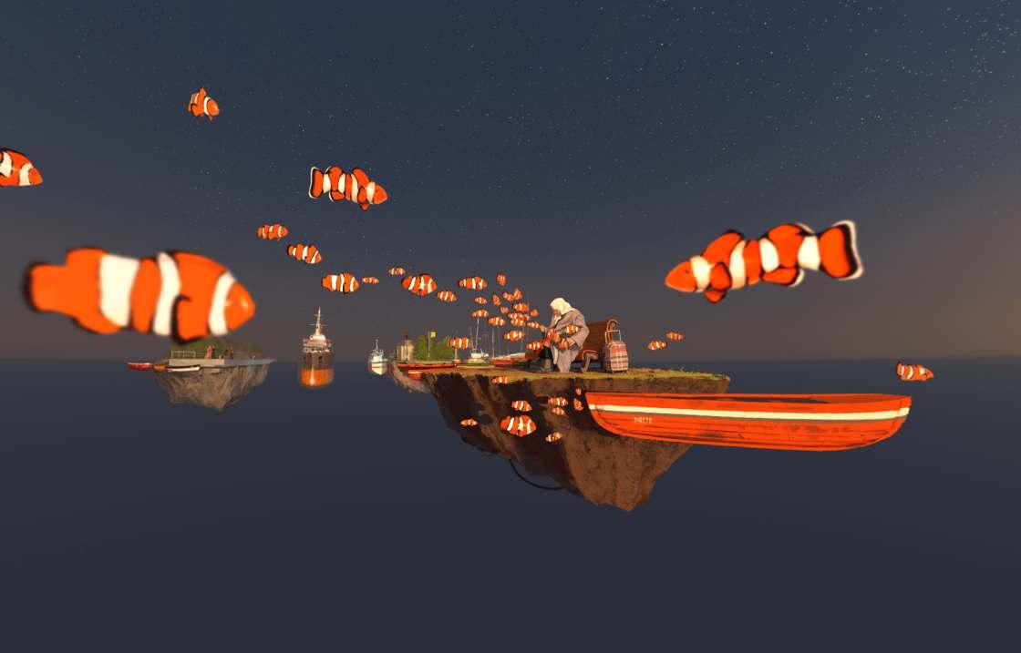 Separate Reality - Explorez ces impressionnantes peintures en realite virtuelle