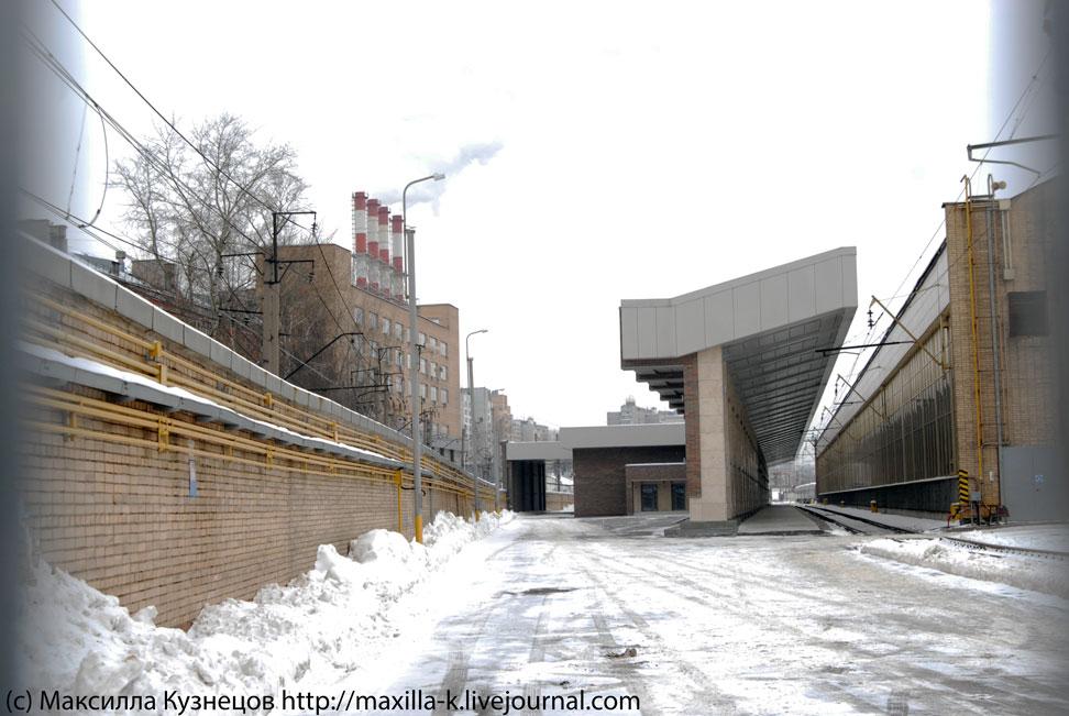 Брежневский вокзал