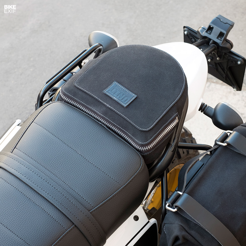Unit Garage:  Scrambler Ducati Desert Sled с комплектом Fuoriluogo