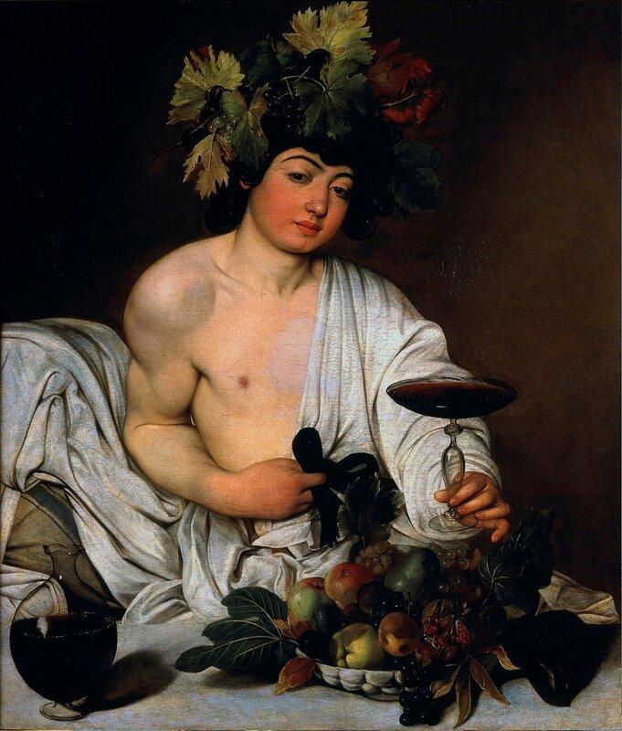 Караваджо Вакх Caravaggio Bacco adolescente.jpg