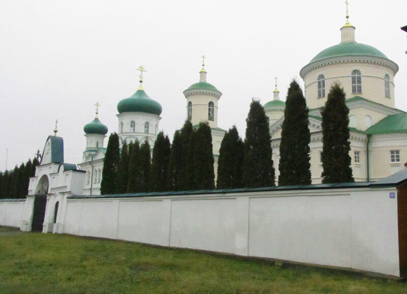 Церковь Дмитрия Солунского из за ограды