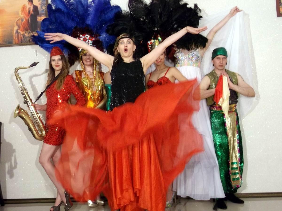 Такой вот винигрет: Восточные танцы в советском стиле