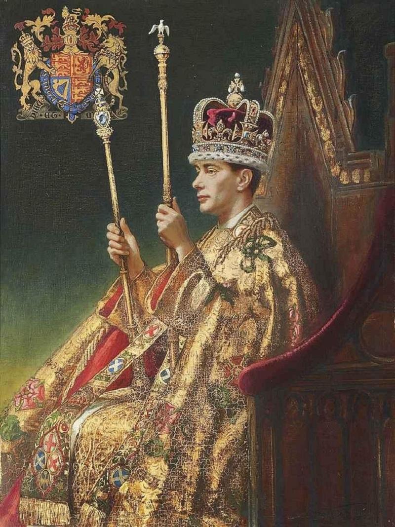Его Величество Король Георг VI, портрет для коронационной картины.Jpeg