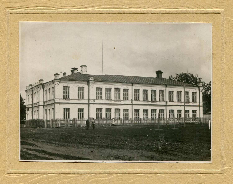 Окрестности Перми. село Ильинское. Театр