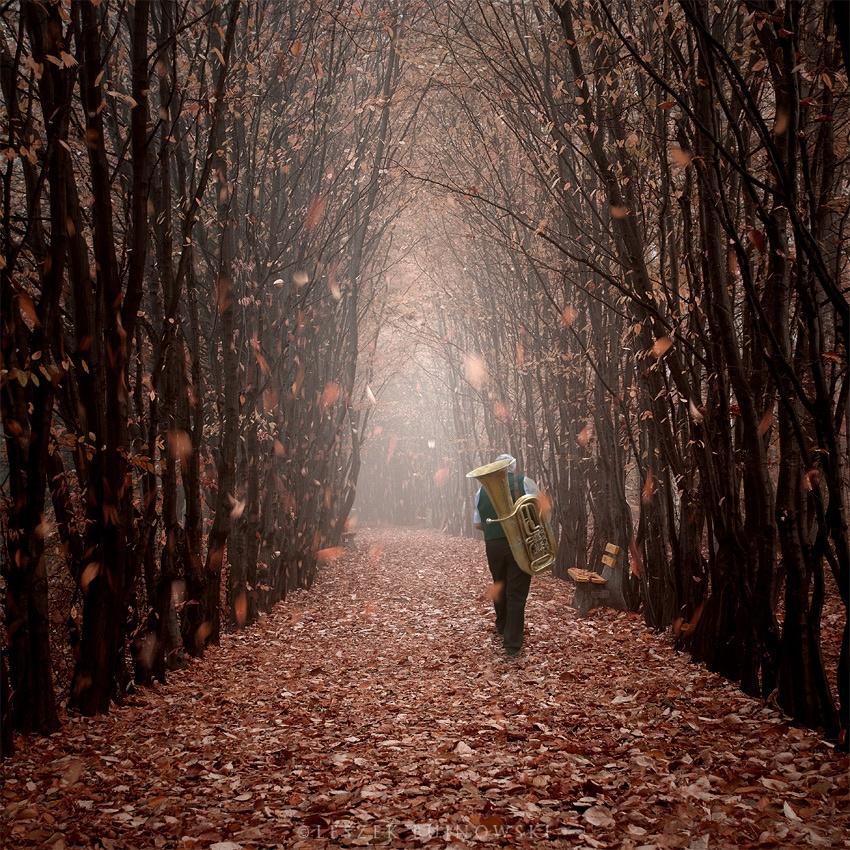 Сюрреалистичные миры на снимках Лешека Буйновского