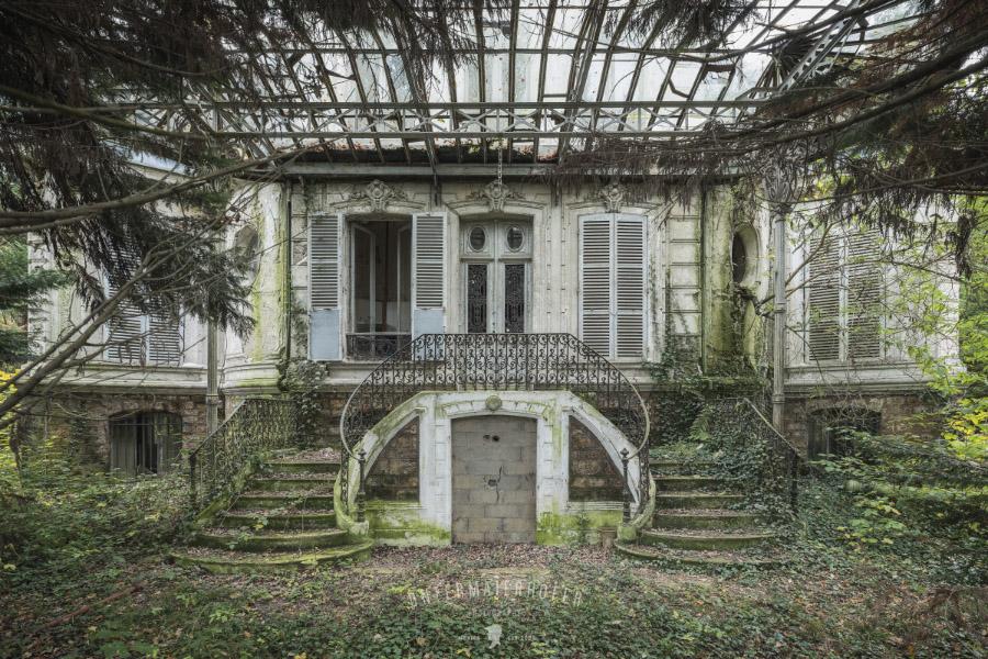 Заброшенные места на снимках Питера Унтермайерхофера