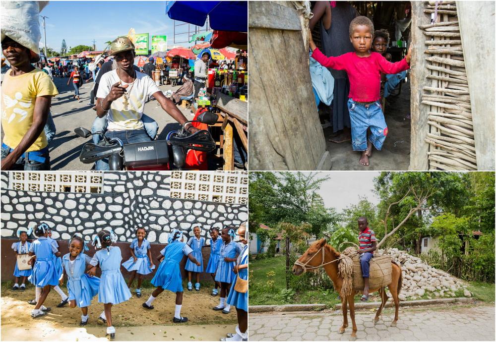 Фото повседневной жизни на Гаити