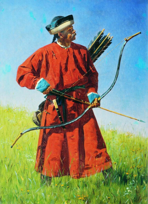 Бухарский солдат (сарбаз) 1873 ТТГ
