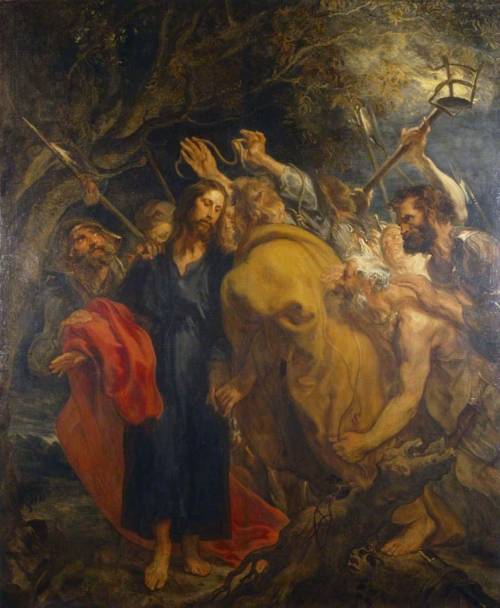 van Dyck, Anthony, 1599-1641; The Betrayal of Christ