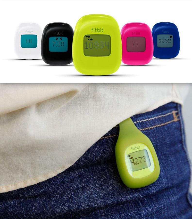 4. Fitbit Zip . Занимаетесь ли вы фитнессом или просто решили вести учет того, сколько активных движ