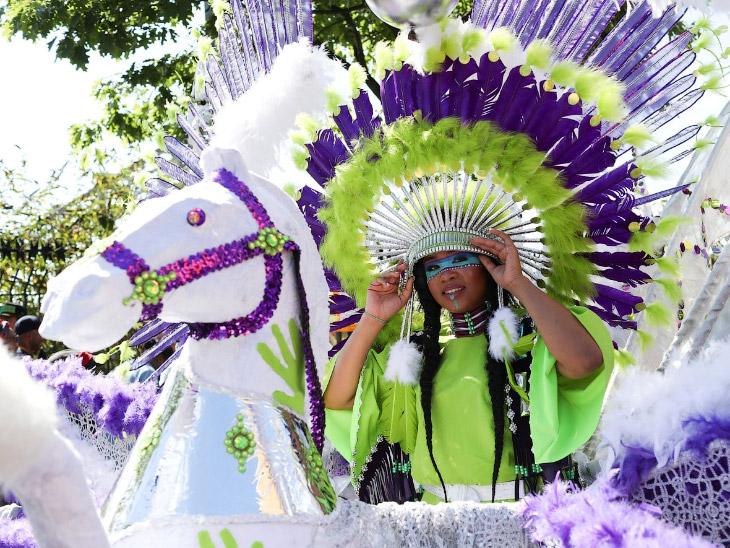 Ноттинг-Хиллский карнавал в Лондоне (20 фото)